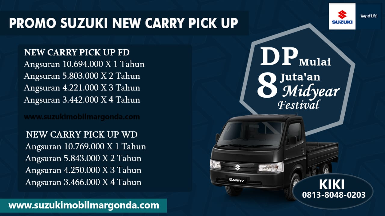Promo Suzuki New Carry Pick Up